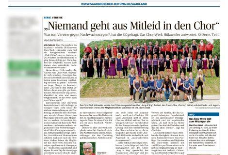 Saarbrücker Zeitung berichtet
